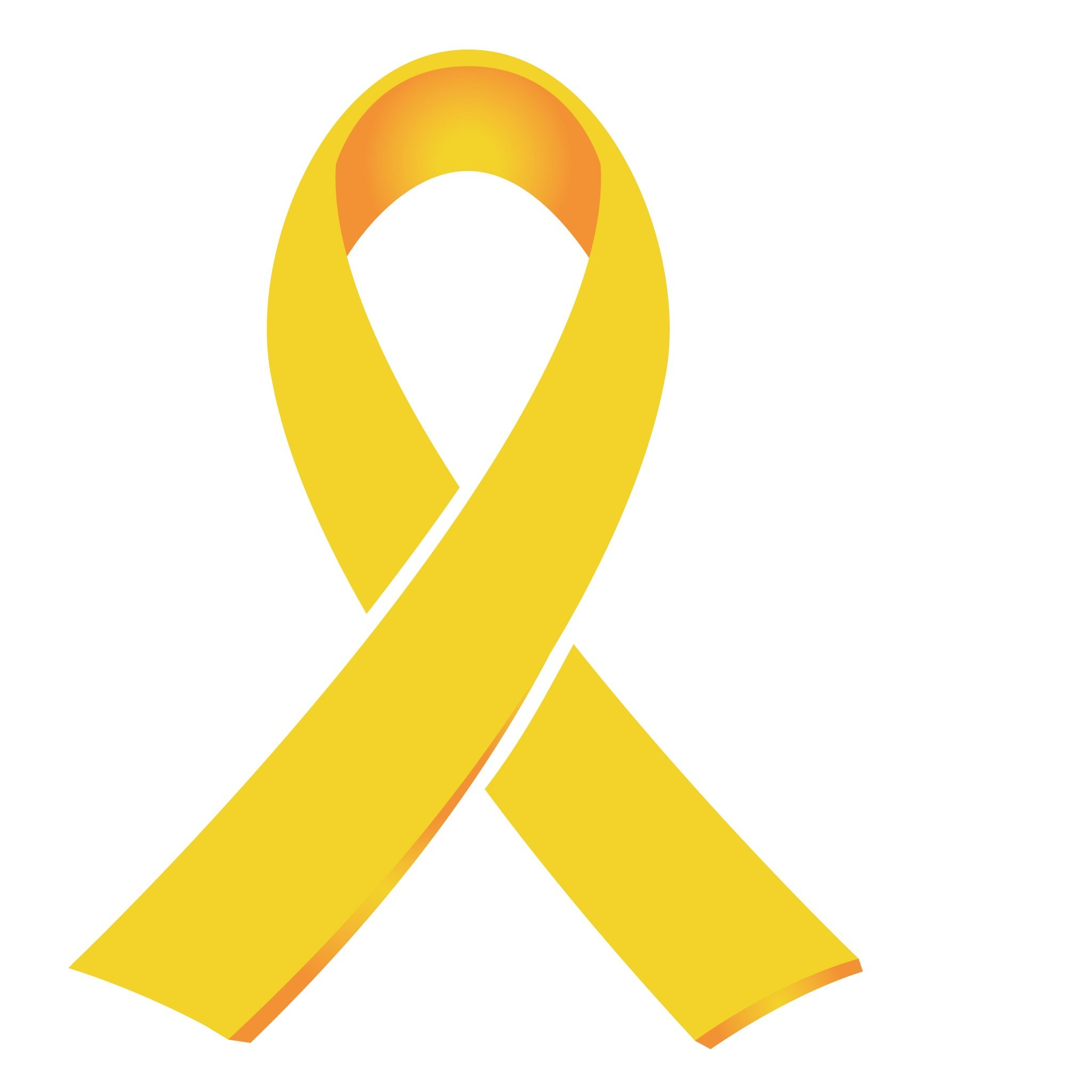 Childhood cancer awareness ribbon clipart 2 » Clipart Portal.