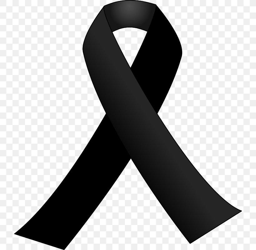 Black Ribbon Awareness Ribbon Clip Art, PNG, 730x800px.