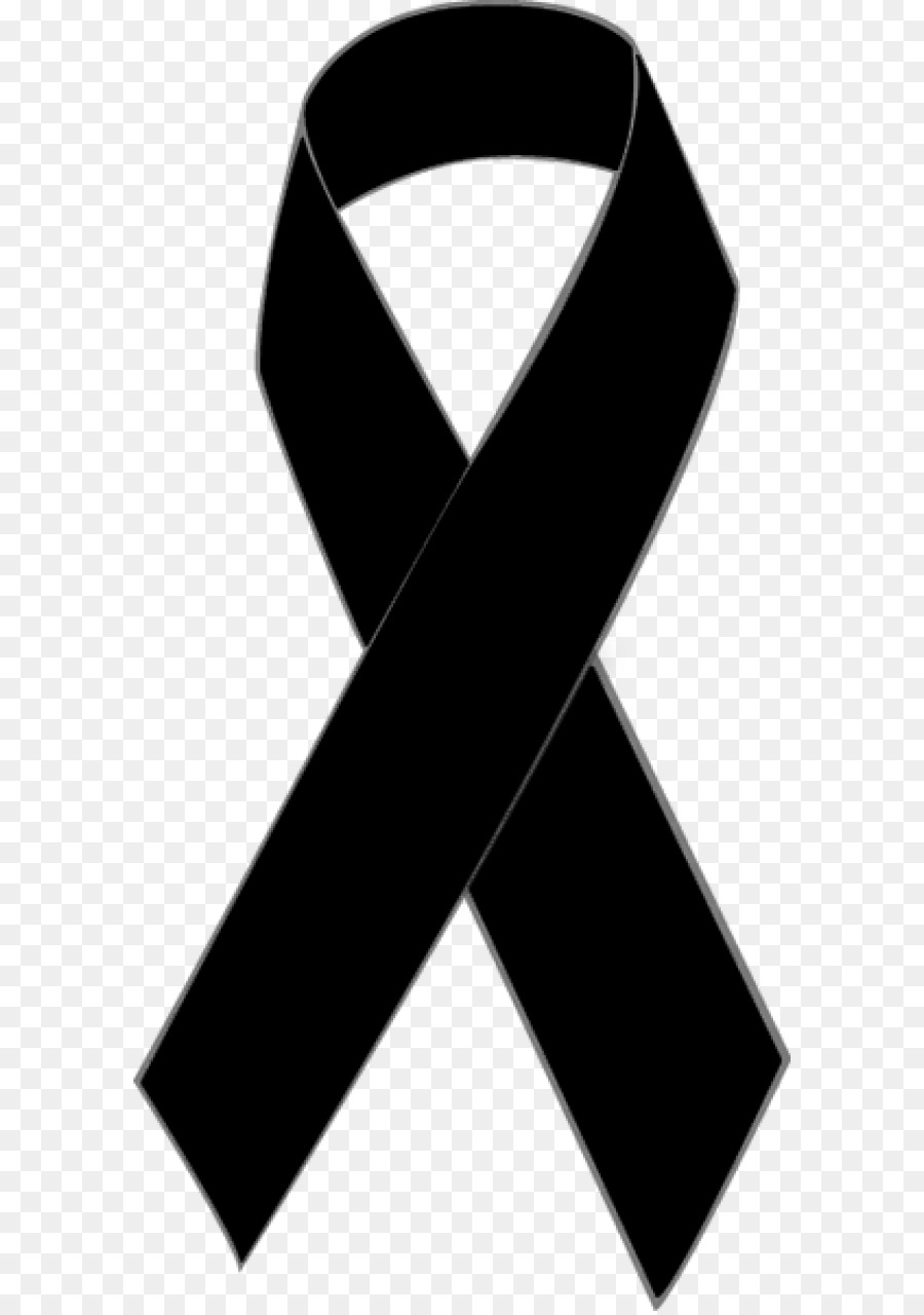Awareness Ribbon Clipart Black And White.
