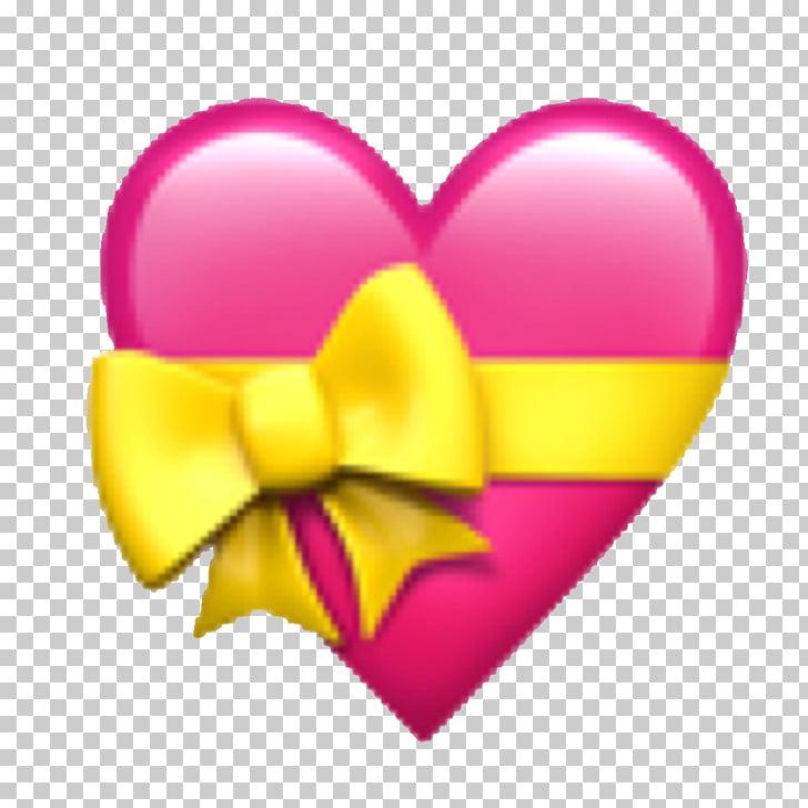 Emojipedia Heart Ribbon Emoticon, Emoji PNG clipart.