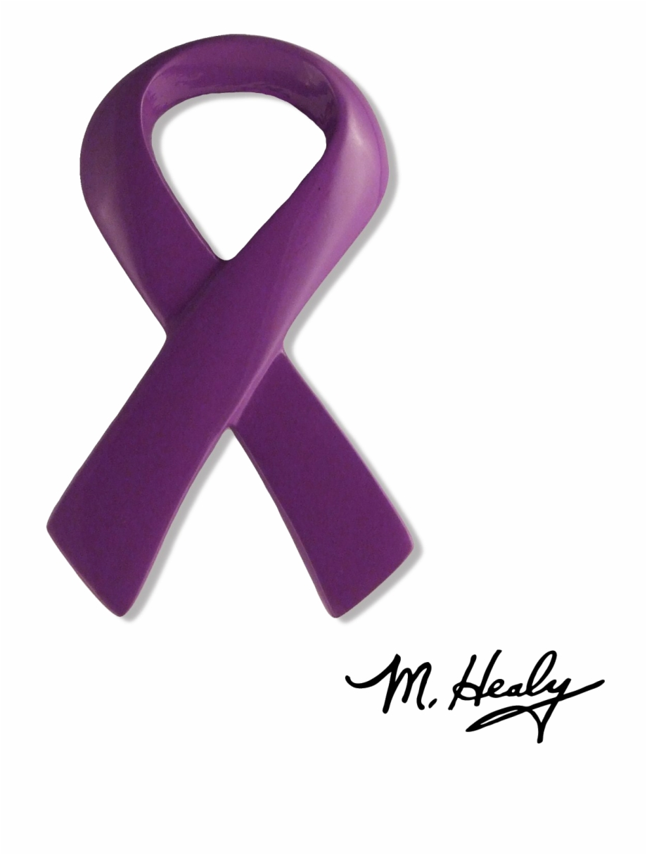 Purple Awareness Ribbon Png Hd Ribbon.