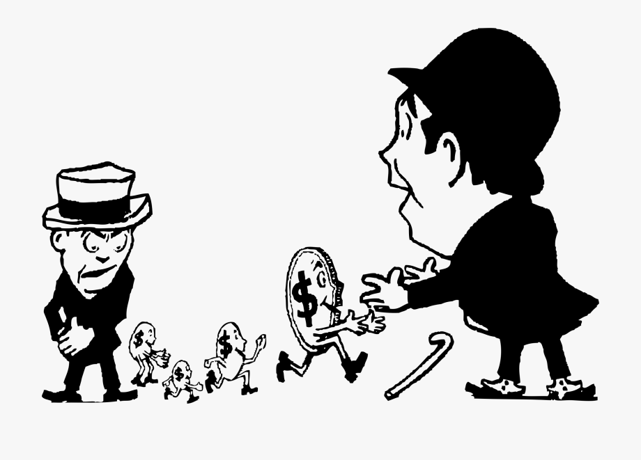 Picture Black And White Download Running Away Clipart.