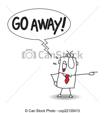 Go away Illustrations and Clipart. 1,545 Go away royalty free.