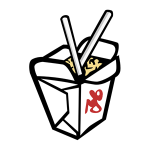 Take Away Chinese clipart, cliparts of Take Away Chinese.
