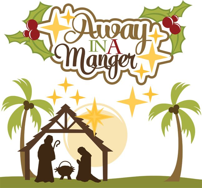 Away in a manger clipart » Clipart Station.