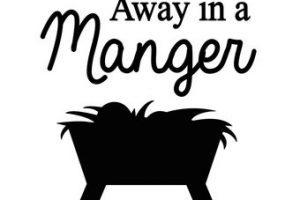 Away in a manger clipart » Clipart Portal.