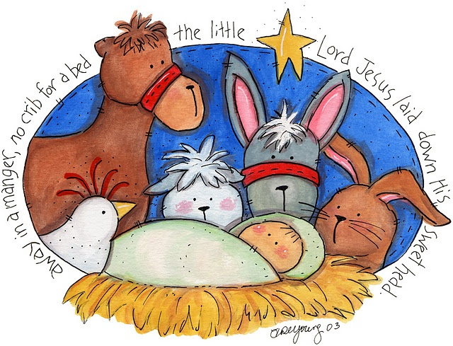 Away in a manger clipart 1 » Clipart Station.