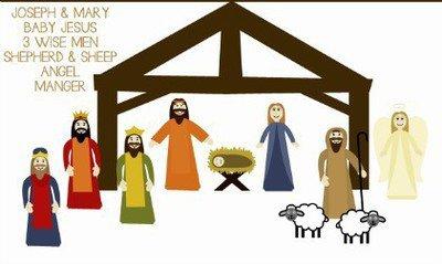 Away in a manger clipart 1 » Clipart Portal.