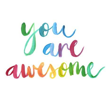You Are Awesome Free Clipart.
