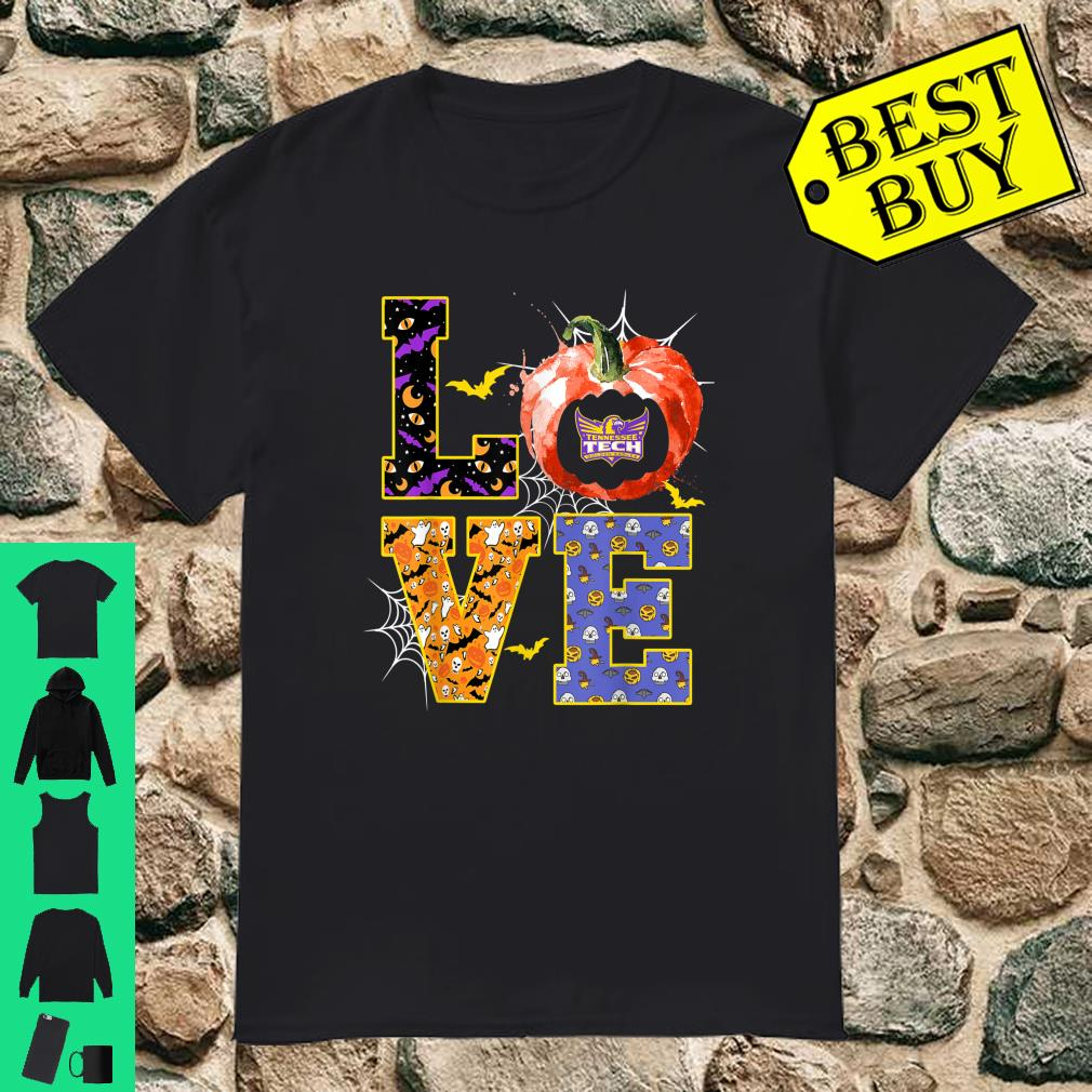 Tennessee Tech Golden Eagles Stacked Love shirt.