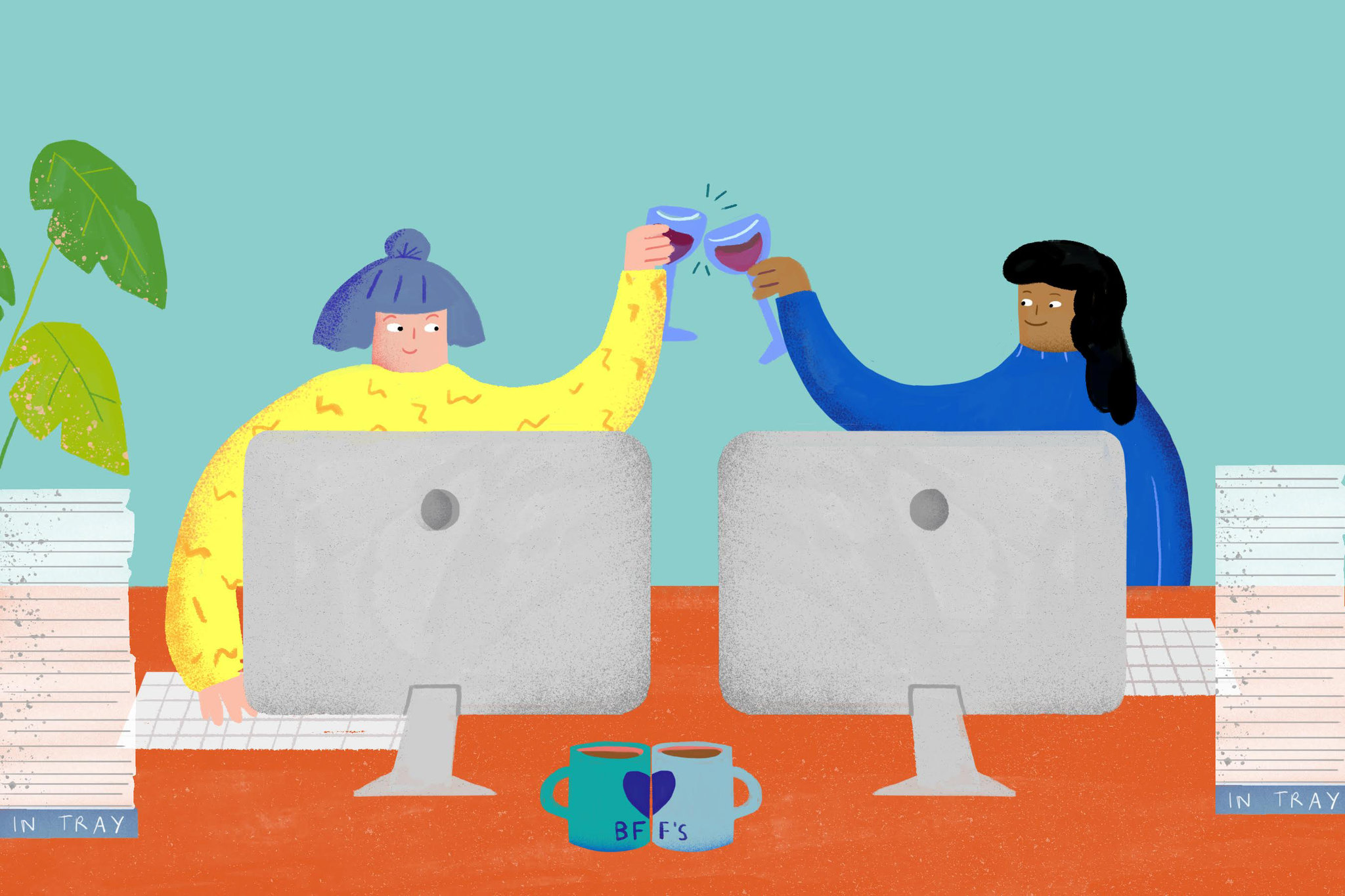 Why Office Friendships Can Feel So Awkward.