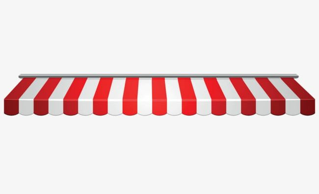 Red And White Striped Awning PNG, Clipart, Awning, Awning Clipart.