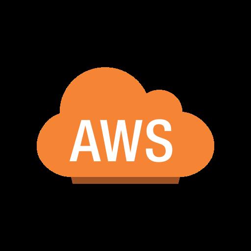Aws, cloud, copy, non, service, specific icon.