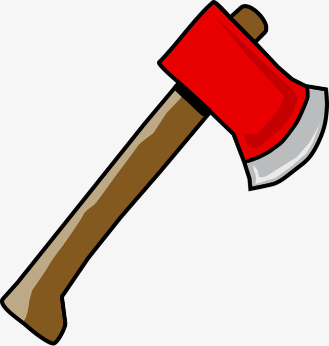 Red Ax, Red, Ax, Sharp PNG Image And Cli #37506.