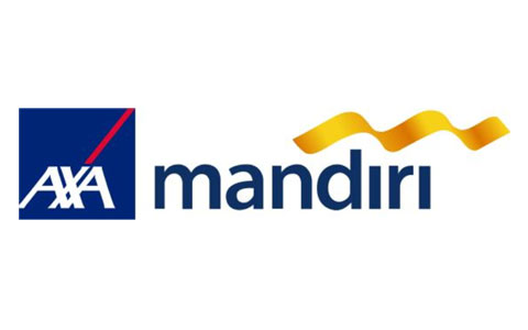 Axa Mandiri (financial services) Logo Vector.