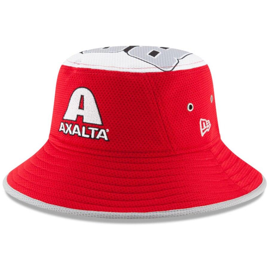 New Era Dale Earnhardt Jr. Red Axalta Logo Topper Stretch.