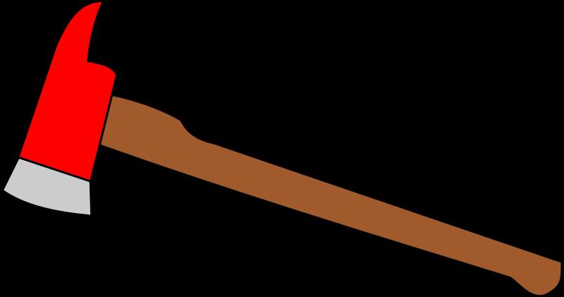 Free Clipart: Fire axe.