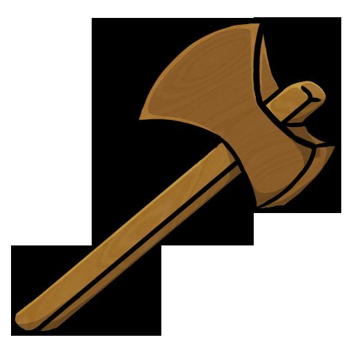 Wood Axe Clipart.