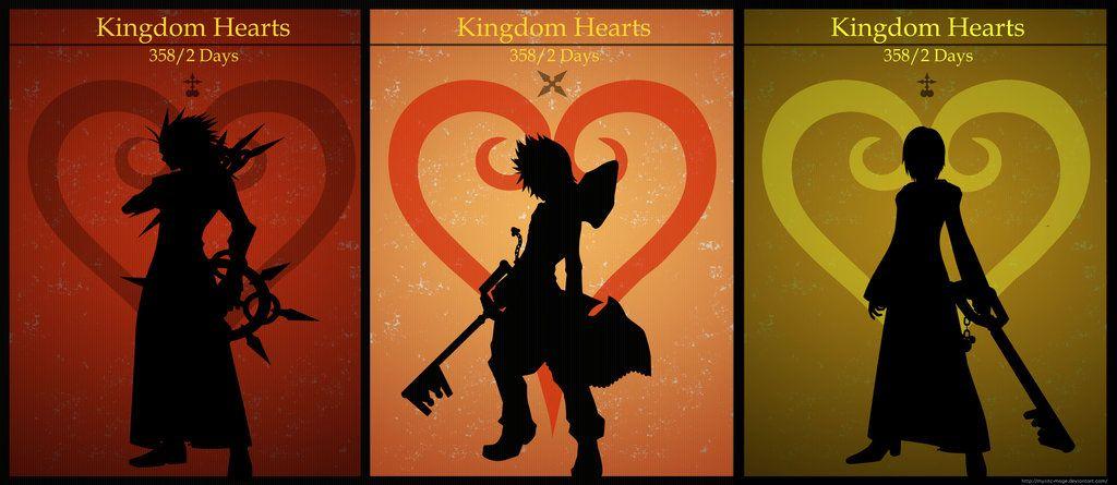Kingdom Hearts 358/2 Days Trio.