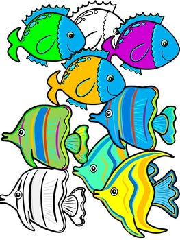 Rainbow fish clipart clipart images gallery for free.