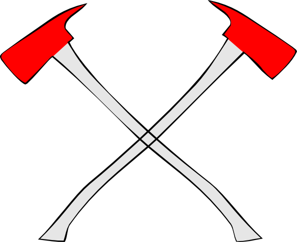 Fire Ax Cross Clip Art at Clker.com.