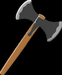 Clipart of axe.
