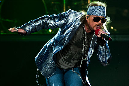 Inside Axl Rose's First TV Interview in Over a Decade.
