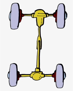 Free Wheel And Axle Clip Art with No Background.
