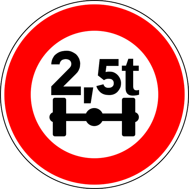 Free vector graphic: Axle Load Limit, Load Limit, Sign.