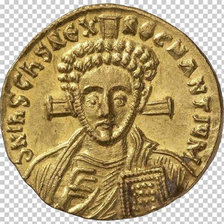 Axum Kingdom of Aksum Roman Empire Coin Aureus, Coin PNG.