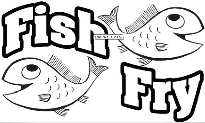 273 Fish Fry free clipart.