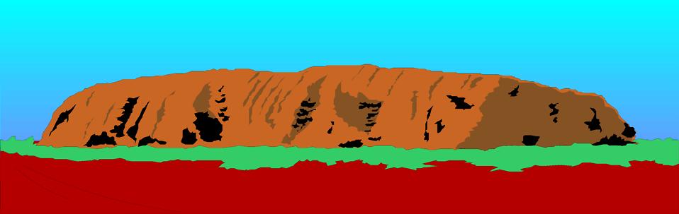 Ayers Rock.