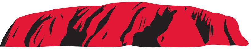 Uluru Stock Illustrations.
