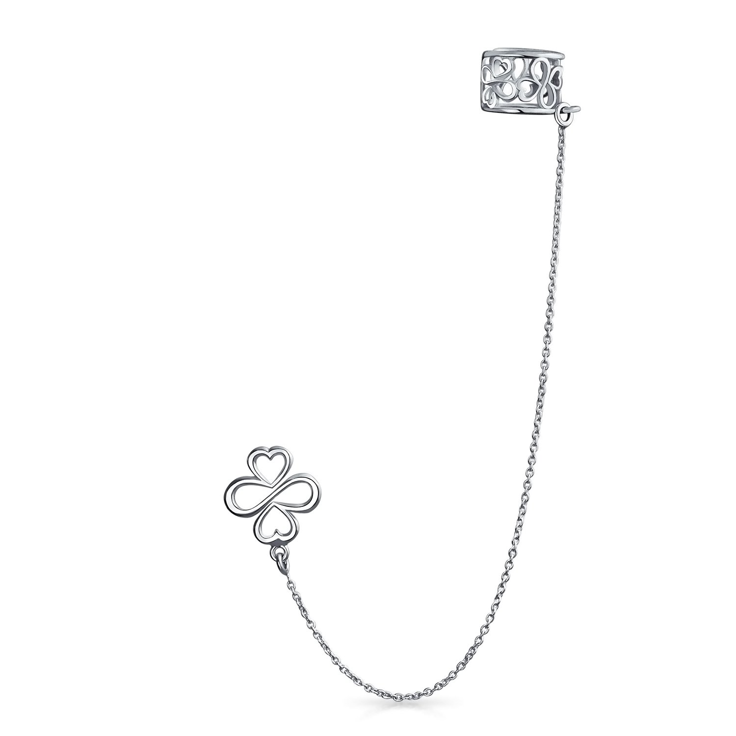AYLLU We Are One Ear Cuff Sterling Silver One Piece.