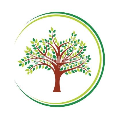 Ayurveda Tree Vector Art.