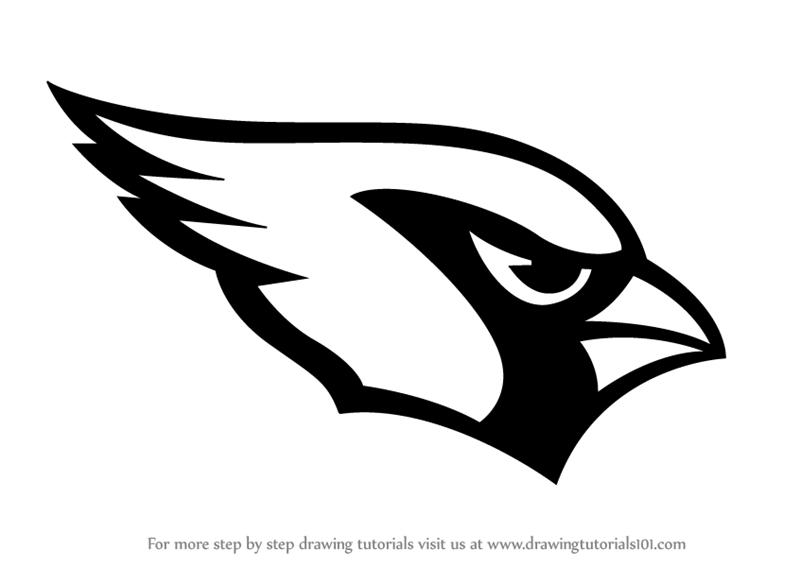 Learn How to Draw Arizona Cardinals Logo (NFL) Step by Step.