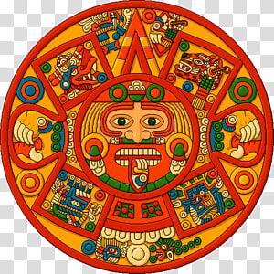 Aztec calendar stone Aztec Empire Mesoamerica, aztec.