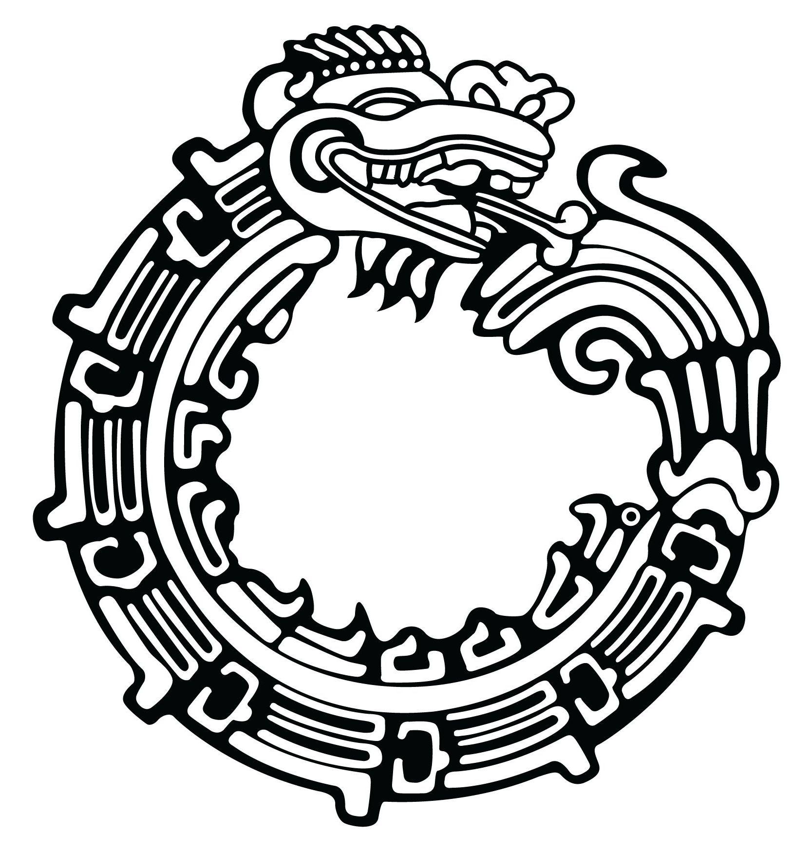 Free Aztec Art Black And White, Download Free Clip Art, Free.
