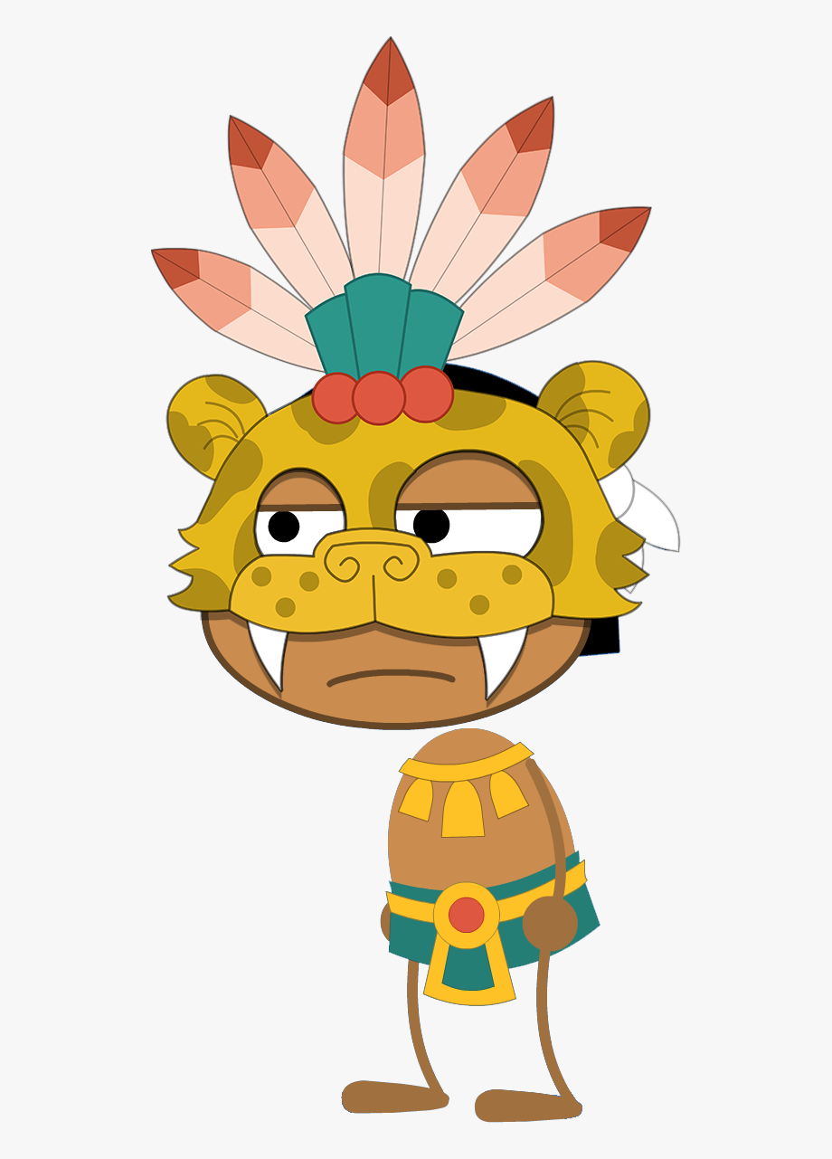 Aztec Warrior Transparent , Transparent Cartoon, Free.