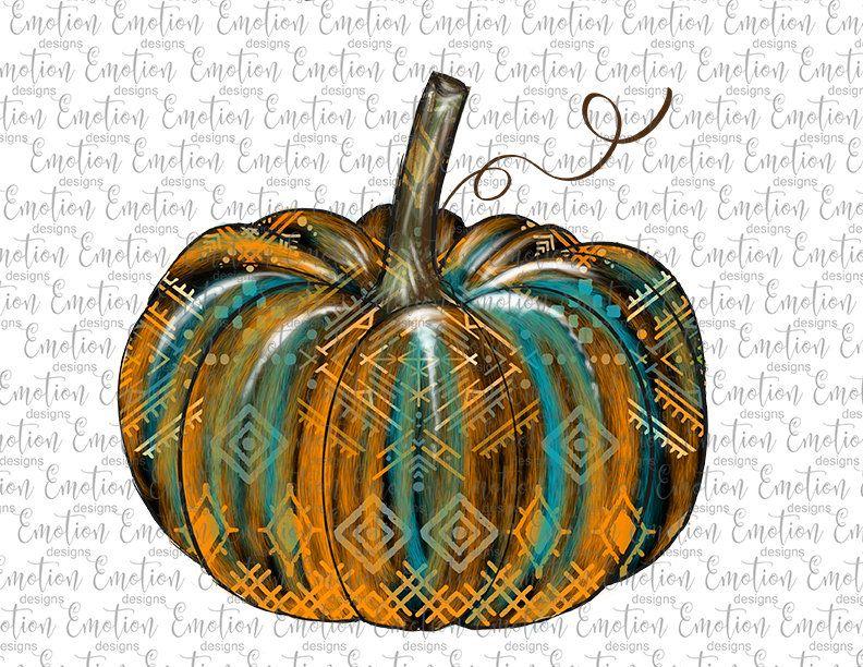 Aztec pumpkin 3 PNG, clipart, instant download, Sublimation.