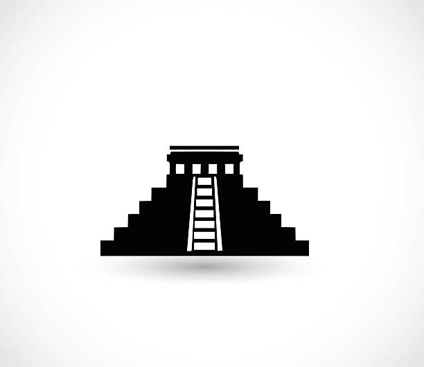 Best Mayan Pyramids Illustrations, Royalty.