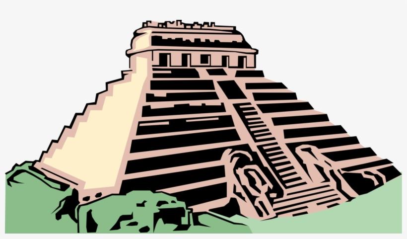 Vector Illustration Of Ancient Mayan, Aztec, Or Inca.