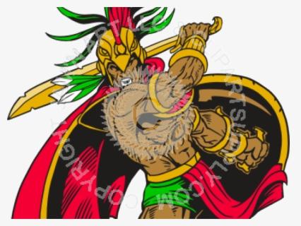aztec warrior clipart god #4