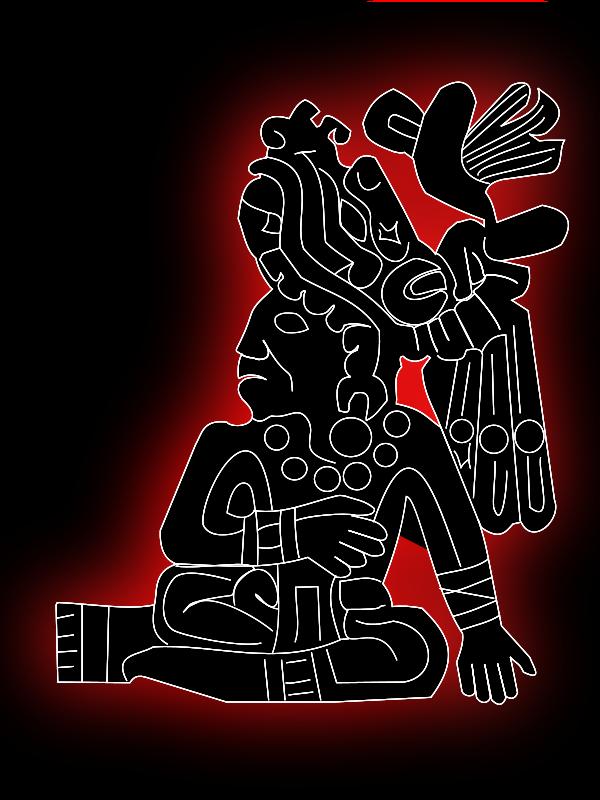 Free Clipart: Sello Azteca.