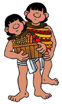 Aztec farming clipart.