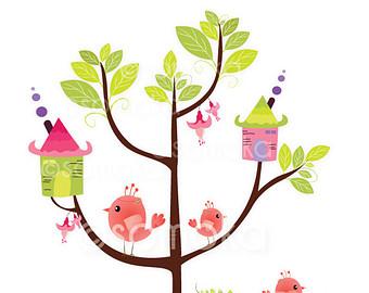 house tree clipart.