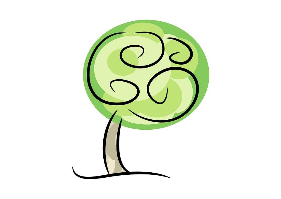 Kostenlose Illustration: Baum, Pflanze, Natur, Frühling.