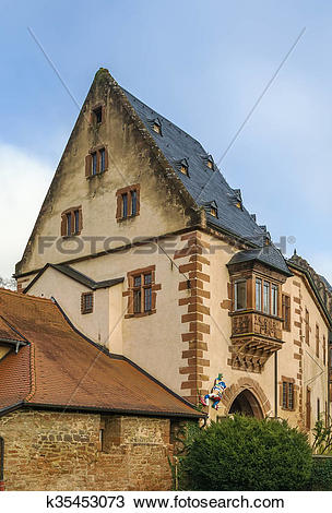 Stock Photo of Castle in Budingen, Germany k35453073.