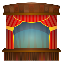 Stage Free Vector.