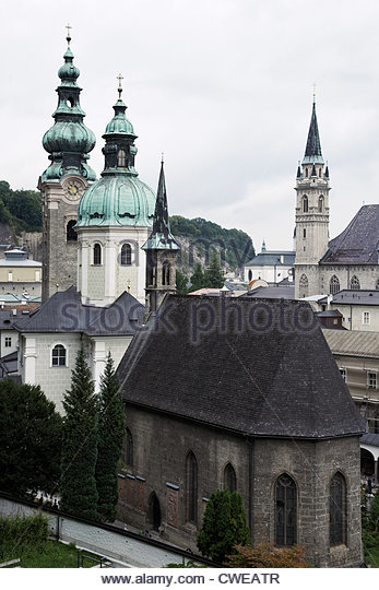 Geography Travel Austria Salzburg St Stock Photos & Geography.
